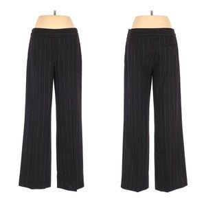 LOFT Pinstripe Dress Pants Bootcut Size 8